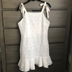 Tea & Cup White Dress